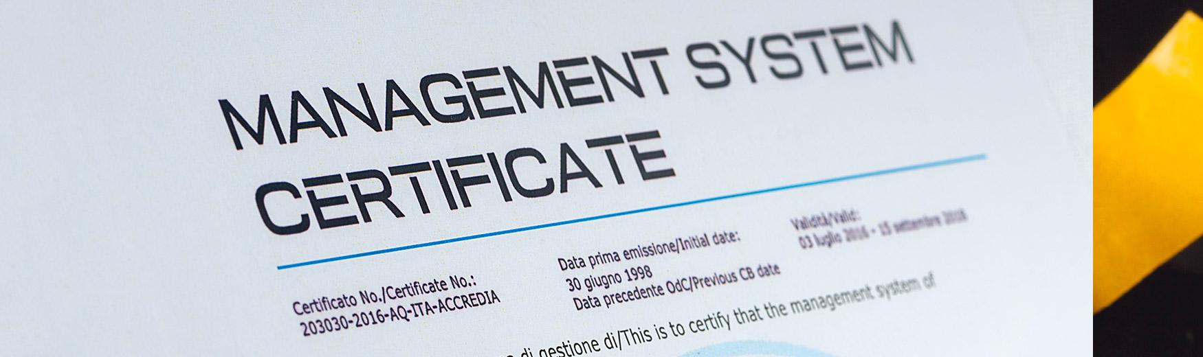 Bo Certifications List
